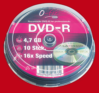 DVD-R, M�rz 2012