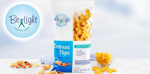 Erdnuss Flips, fettreduziert, August 2010