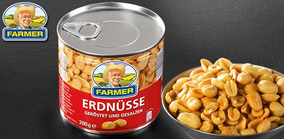 Erdnüsse, Februar 2013