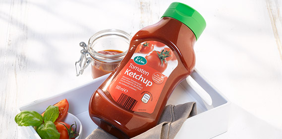 Tomatenketchup, April 2012