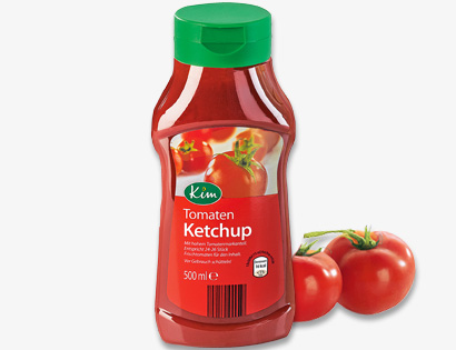 Tomatenketchup, April 2014