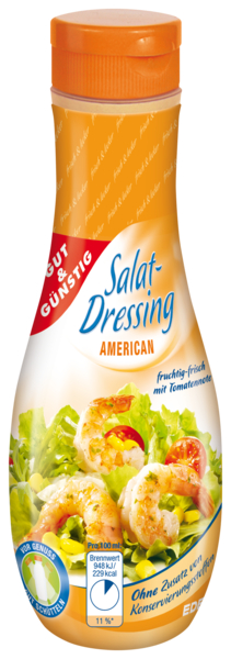 Salat-Dressing, American, Januar 2018