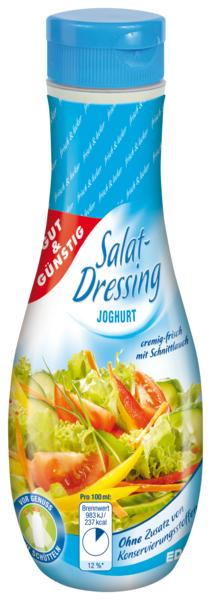 Salat-Dressing, Joghurt, Januar 2018