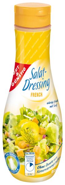 Salat-Dressing, French, Januar 2018