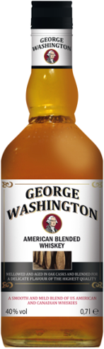 Kentucky Bourbon Whiskey George Washington, 40 % Vol., Dezember 2017