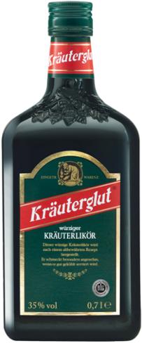 Kräuterlikör Kräuterglut, 35 % Vol., Dezember 2017