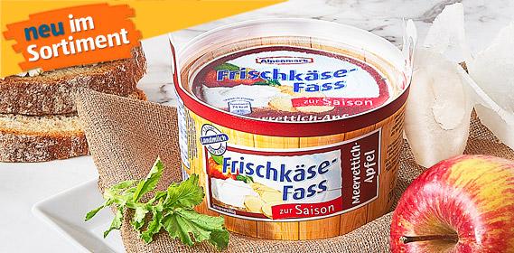 Frischkäse-Fass, Oktober 2010