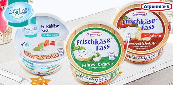 Frischkäse-Fass, November 2010