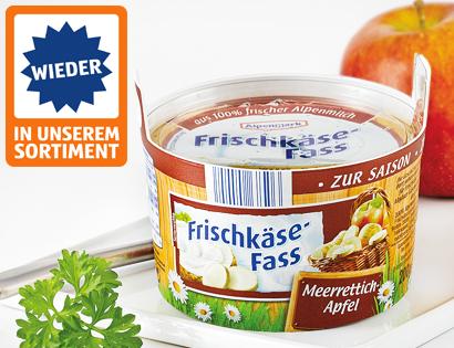 Frischkäse-Fass, November 2013