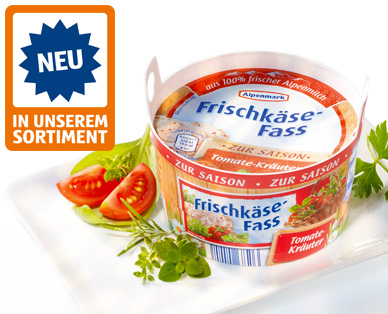 Frischkäse-Fass, September 2014