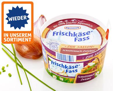 Frischkäse-Fass, Mai 2015