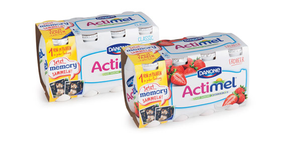 Actimel Drink, 8x 100 ml, Oktober 2013