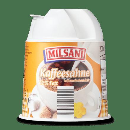 Kaffee-Sahne, 12% Fett, November 2017