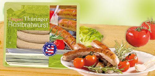 Original Thüringer Rostbratwurst, 5er, November 2007