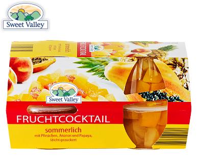 Fruchtcocktail, 4x 120 g, Dezember 2017