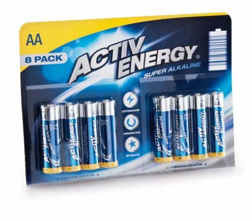 activ energy batterien 1 5 v mignon aa lr6 von hofer. Black Bedroom Furniture Sets. Home Design Ideas