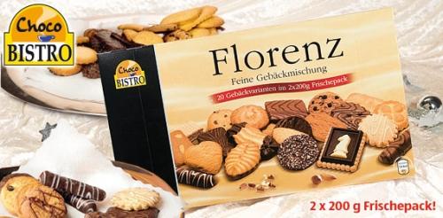 Gebäckmischung Florenz 2x 250 g, November 2008