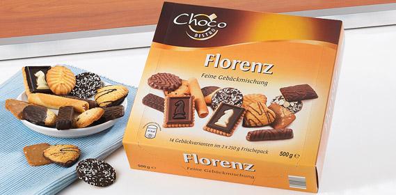 Gebäckmischung Florenz 2x 250 g, Oktober 2010