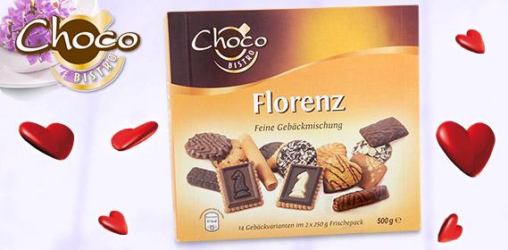 Gebäckmischung Florenz 2x 250 g, April 2011