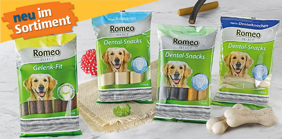 Hunde-Dental-Snacks oder Gelenk-Fit, August 2011