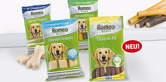 Hunde-Dental-Snacks oder Gelenk-Fit, Oktober 2011