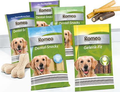 Hunde-Dental-Snacks oder Gelenk-Fit, September 2013
