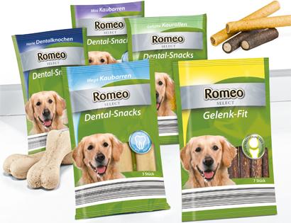Hunde-Dental-Snacks oder Gelenk-Fit, September 2013