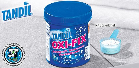 OXI-FIX Sauerstoff-Mehrzweck-Fleckentferner, Juli 2012