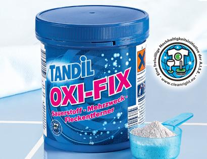OXI-FIX Sauerstoff-Mehrzweck-Fleckentferner, Juli 2013