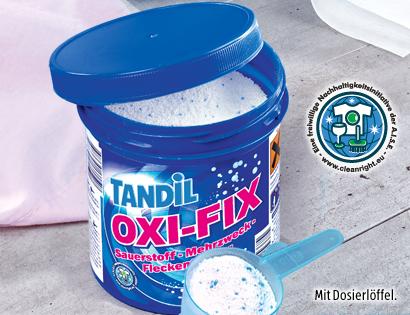 OXI-FIX Sauerstoff-Mehrzweck-Fleckentferner, Januar 2014