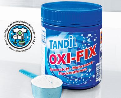 OXI-FIX Sauerstoff-Mehrzweck-Fleckentferner, Juli 2014