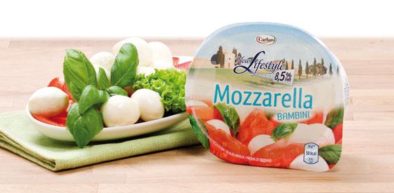 Mozzarella Bambini, 45 % F.i.T., Februar 2012