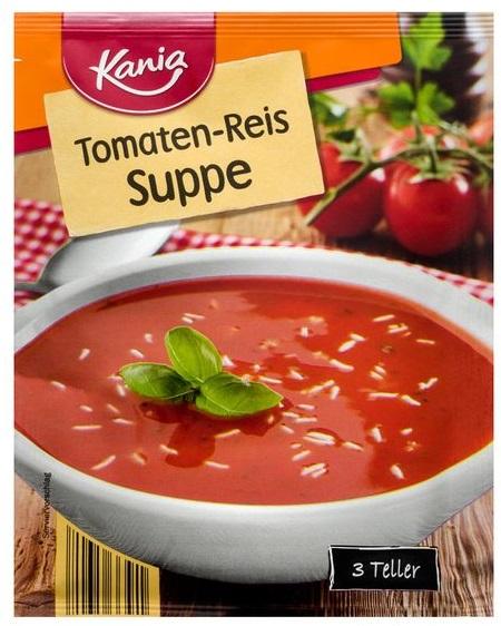 Tomaten-Reis-Suppe, Juni 2017