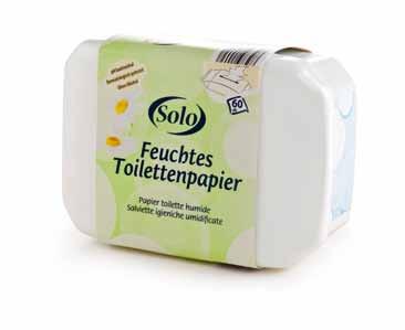 Feuchtes Toilettenpapier in der Box, Oktober 2012