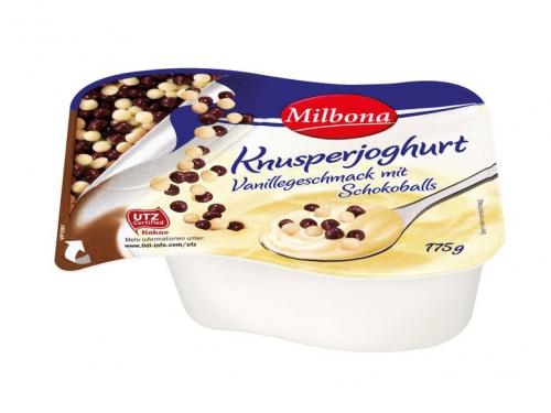 2-Kammer Knusperjoghurt Vanille mit Schokoballs, Oktober 2017