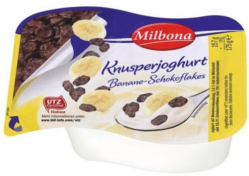 2-Kammer Knusperjoghurt Banane & Schokoflakes, Juli 2017