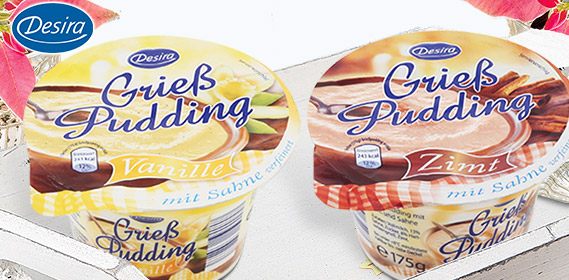 Grieß Pudding, November 2010