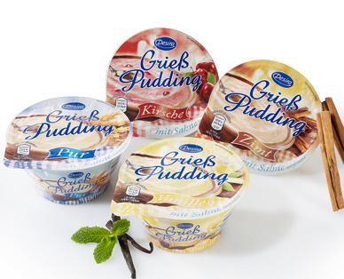 Grieß Pudding, Dezember 2014