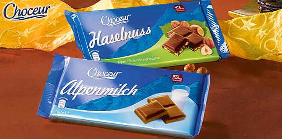 CHOCEUR Schokolade Von Aldi Süd