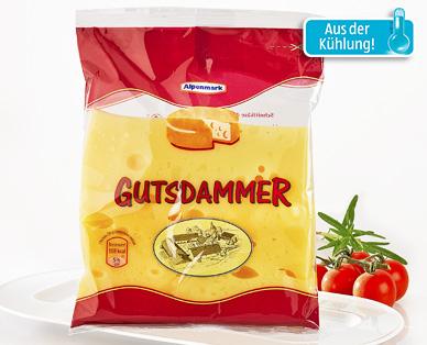 Gutsdammer Käse, am Stück, August 2014