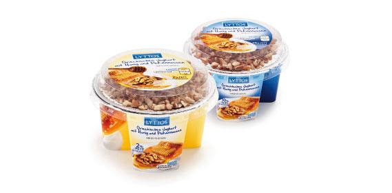 Griechisches Joghurt mit Honig und Nüssen, Dezember 2013