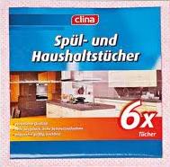 Spül- und Haushaltstücher, Januar 2013