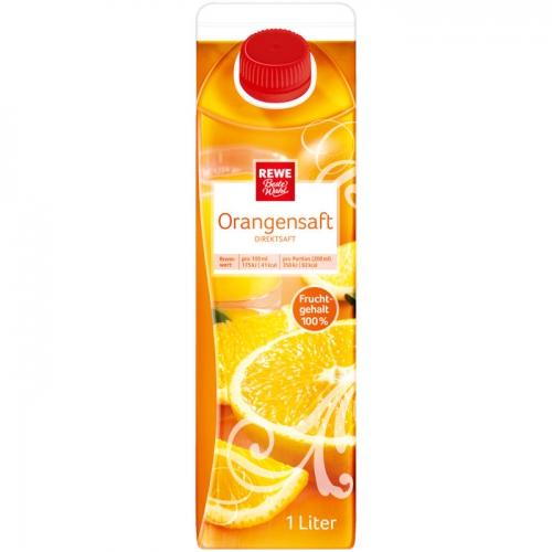 Orangensaft Direktsaft, M�rz 2017