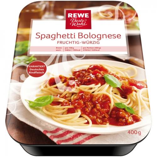 Spaghetti Bolognese, M�rz 2017