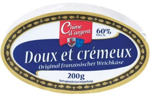 Original Französischer Weichkäse - Doux et Crémeux, Juli 2017