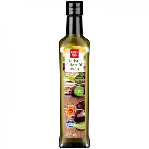 Natives Olivenöl extra, M�rz 2017