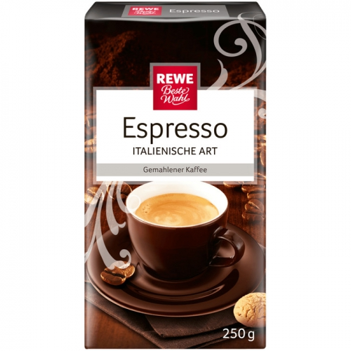 Espresso - Röstkaffee, Februar 2017