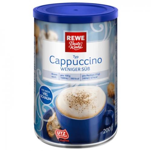 Cappuccino weniger süß, Dezember 2017