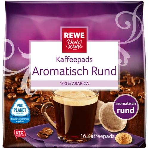 Kaffeepads Aromatisch Rund, Dezember 2017