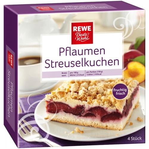 Pflaumen-Streuselkuchen, M�rz 2017